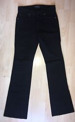 James Jeans Cured By Seun Black High Rise Waist Flared Hector Jeans Size 27 New