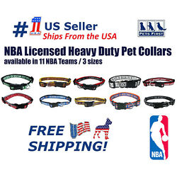 Nba Collars Heavy-duty Durable And Adjustable Collar For Pets Dogs And Cats