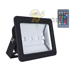 200w Rgb Led Flood Light 16 Colors Change 4 Modes Floodlight With Remote Control