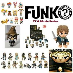 Funko Mystery Minis Tv Movies Anime You Choose Free Shipping Buy Two And Save