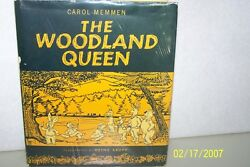 The Woodland Queen Carol Memmen Usa 1963 Very Rare And Collectible Hardcover
