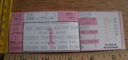 The Jacksons Victory Tour Michael 1984 Full Concert Ticket Ca