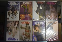 Revival #1-47 Image Complete High Grade Set All 1st Print #1 is Rare Variant