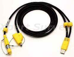 New Trimble 80751 Usb To Lemo Download Cable For R10 And Sps985 Gnss Antenna