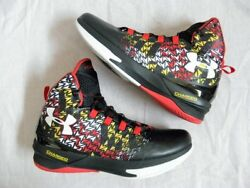 Under Armour UA Clutchfit Drive III 3 Curry Maryland Pride DS NEW size 11 Terps