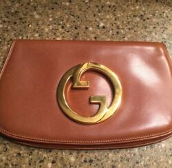 Gucci Women's Antique leather small clutch purse
