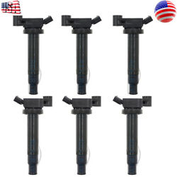 6x OEM Ignition Coils Denso 673-1301 for Toyota Avalon Camry Lexus ES300 RX300