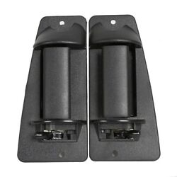 Pair Rear Outside Door Handle For 99-07 Chevy Silverado Gmc Sierra Extended Cab