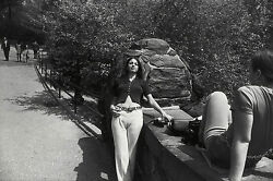 Garry Winogrand Women Are Beautiful C. 1970 / Silver Print / Signed / Gw09