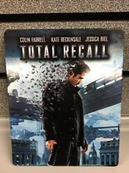 Total Recall | Steelbook Bluray/dvd | 100 Authentic | Ships Fast