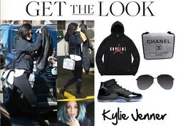 CHANEL Messenger Bag w CC Logo 31 Rue Cambon Paris style worn by Kylie Jenner
