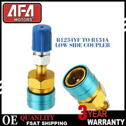 Adapter Quick Fitting Coupler#3630 new 1Pcs R1234YF LOW SIDE COUPLER TO R134A