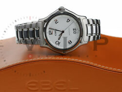 Ebel 1911 Senior Big Date Watch Men's Wristwatch Steel Montre Orologio Reloj