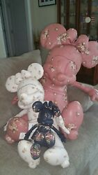 Coach Disney X MInnie Mouse Doll~~~ Limited Edition~~~Large & Small Only~NWT