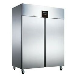 Blizzard Br2ss Double Door Upright Stainless Steel Fridge Boxed New