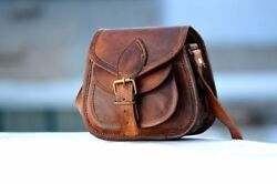 HandCrafted Bag Leather Messenger Women Purse Tote Handbag Satchel Cross body $29.45