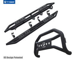For 07-18 Chevy Silverado/sierra 1500 Ext Cab Tyger Armor And Bumper Guard Combo