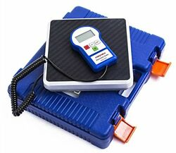 Kozyvacu 220lbs Digital Electronic Refrigerant Charging Weight Scales for AC LCD