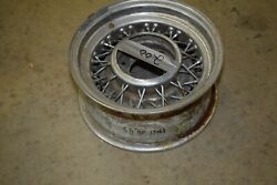 1933-1966 Mopar Wire Wheels 15 X 6 1/2 5 1/2 Bolt Pattern Chrys Dodge Desoto