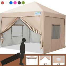 Quictent Ez Pop Up Canopy 10and039x10and039 Outdoor Wedding Party Tent Gazebo Shelter Us