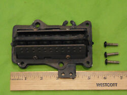 Mercury/mariner 18-25hp 80and039s -2000and039s Era Reed Block-adapter And Plate Assy