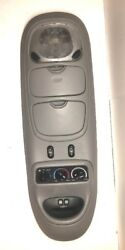 99 00 01 02 EXPEDITION NAVIGATOR OVERHEAD DOME LIGHT CLIMATE CONTROL OEM GRAY