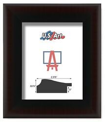 Us Art Frames 2.37 Heavy 2 Tone Cherry Black Polystyrene Picture Frame Lots S-a