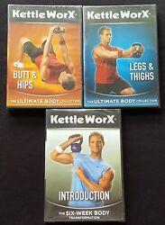 Kettleworx Ultimate Body Collection 3 Dvd Set - New/factory Sealed