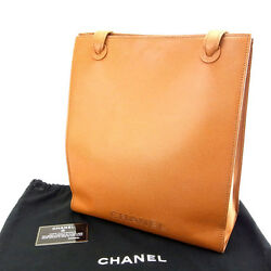 Chanel Tote bag Brown Woman Authentic Used M957