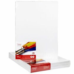 CANVAS PANELS 12 PACK 12quot;X16quot; SUPER VALUE PACK Artist Canvas Panel Boards f... $29.99
