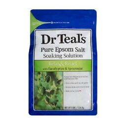 Dr Tealand039s Pure Epsom Salt Relax And Relief 1.36kg 1 2 3 6 12 Packs