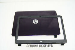 """Purple Hp 15-g094sa 15.6"""" Rear Screen Cover Lid And Bezel Surround Trim"""
