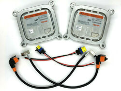 2x New OEM OSRAM D3S D3R Xenon HID Headlight Ballast wWiring Cables