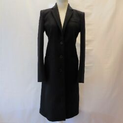 GUCCI Long coat M size black good chips free shipping Japan