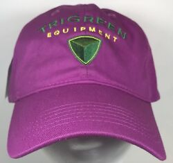 John Deere Tri Green Hat Cap Purple Pink Officially Licensed New With Tag $24.00