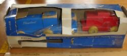 Playskool Special Freight Train No. 415 Wooden In Package Rare Early Pull Toy