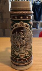 Vintage Beer Stein Made In Germany 13andrdquo Height