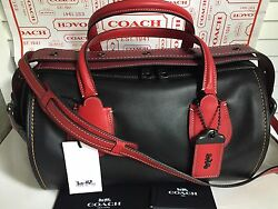 NEW COACH BADLANDS 1941 COLORBLOCK LEATHER BAG SATCHEL CROSSBODY  56587 $795