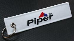 Piper Keychain For Flight Crew Pilots Airplane Owner