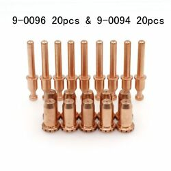 40pcs 9-0096 9-0094 Plasma Torch Electode 40a Drag Tips For Sl40 Cutmaster 42