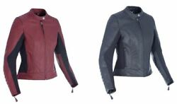 Oxford Beckley Ladies Leather Casual Wear Motorcycle Motorbike Riding Jacket
