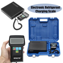 Refrigerant Charging Scale Digital Electronic 22.0 lbs 32F to 113F w Case 9VDC
