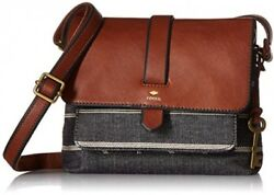 Fossil Kinley Small Crossbody Bag ChambrayOne Size