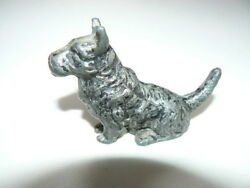 Metal Scottie Dog Scottish Terrier Scotty For Desk Items Boxes Etc.