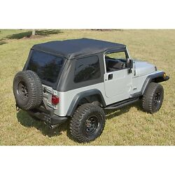 Soft Top And Windshield Channel For Jeep Wrangler 1997-2006, 13750.35-13308.04