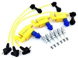 Fits Toyota Ignition Coil Plugs Wires Spark Plugs Is300 Sc300 Vvti Supra Aristo