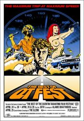 The Best Of Qt Fest By Greg Reinel Stainboy - Rare Sold Out Mondo Print