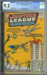 Justice League Of America 13 Cgc 9.2 Ow/wh Pages // Speedy Appearance