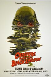 Creature From The Black Lagoon By Francesco Francavilla - Sold Out Mondo Print
