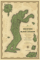 Creature From The Black Lagoon By Laurent Durieux - Rare Sold Out Mondo Print